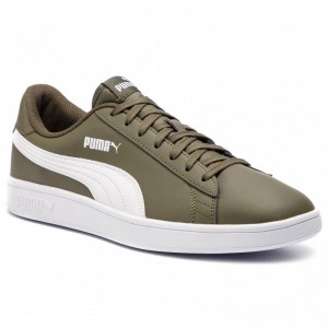 Puma Sneakers Smash V2 L 365215 11 Forest Night/Puma White