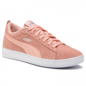 Black Friday 2020 | Puma Sneakers Smash Wns V2 Sd 365313 14 Peach Bud/Silver/Puma White