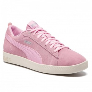 Puma Sneakers Smash Wns V2 Sd 365313 15 Pale Pink/Silver/W White