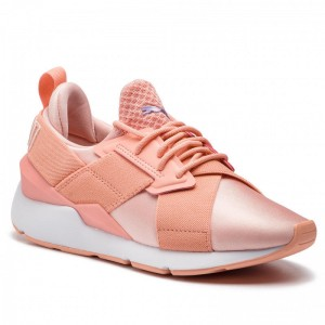 Black Friday 2020 | Puma Sneakers Muse Satin Ep Wn's 365534 12 Peach Bud/Peach Bud