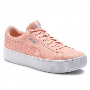 Black Friday 2020 | Puma Sneakers Vikky Platform Glitz Jr 366856 04 Peach Bud/Peach Bud