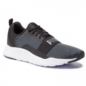 Puma Chaussures Wired Knit 366971 04 Black/Dark Shadow