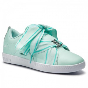 Puma Sneakers Smash Wns Buckle 368081 06 Fair Aqua/Puma White