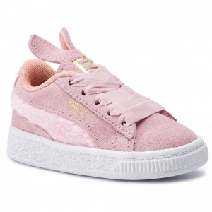 Puma Sneakers Suede Easter Ac Inf 368946 02 Pale Pink/Coral Cloud