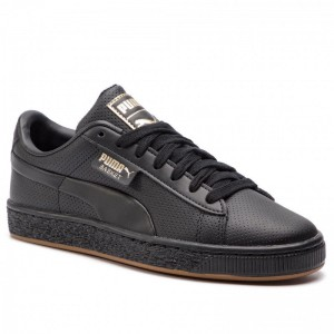 Puma Sneakers Basket Classic Gum Jr 368962 01 Black/Gum