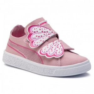 Black Friday 2020 | Puma Sneakers Suede Deconstr. Butterfly V Ps 369090 01 Pale Pink/Fuchsia Purple