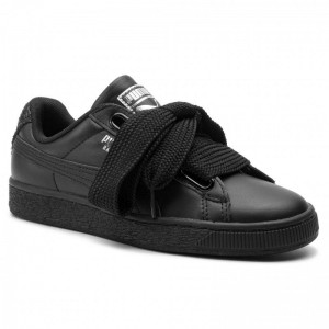 Black Friday 2020 | Puma Sneakers Basket Heart Bio Hack Wn's 369223 03 Black/Puma Silver