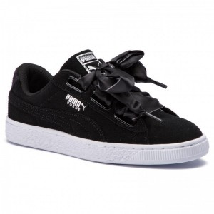 Puma Sneakers Suede Heart Galaxy 369232 03 Black/Puma Silver