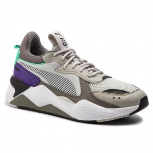 Puma Sneakers Rs-X Tracks 369332 01 Gray Violet/Charcoal Gray