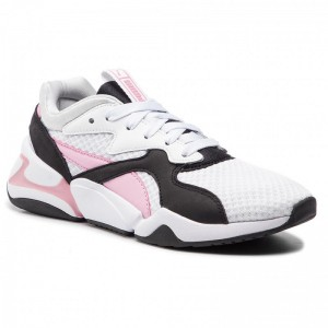 Black Friday 2020 | Puma Sneakers Nova 90's Bloc Wn's 369486 03 White/Pale Pink
