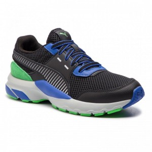 Black Friday 2020 | Puma Chaussures Future Runner Premium 369502 01 Black/Surf The Web