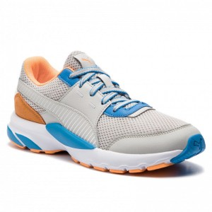 Black Friday 2020 | Puma Chaussures Future Runner Premium 369502 02 Gray Violet/Indigo Bunting