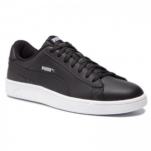 Puma Sneakers Court Breaker Derby L 369503 01 Black/Silver/Puma White