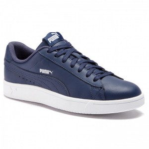 Puma Sneakers Court Breaker Derby L 369503 03 Peacoat/Silver/Puma White