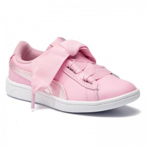 Puma Sneakers Vikky Ribbon L Satin Ps 369543 03 Pale Pink/Pale Pink