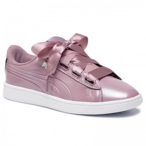 Black Friday 2020 | Puma Sneakers Vikky v2 Ribbon P 369727 03 Elderberry/Puma Silver