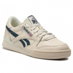 Black Friday 2020 | Reebok Chaussures Phase 1 Pro Mu DV3794 Classic White/Blue Hills