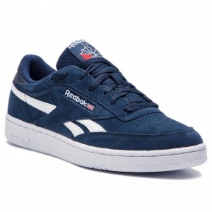 Black Friday 2020 | Reebok Chaussures Revenge Plus Mu DV4062 Collegiate Navy/White