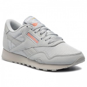 Reebok Chaussures Cl Nylon Txt CN6685 Grey/Pink/Gold