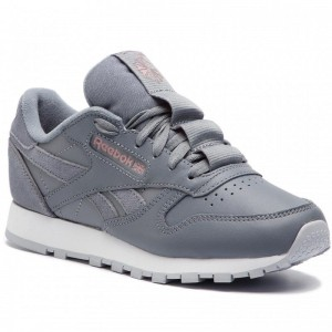 Black Friday 2020 | Reebok Chaussures Cl Lthr CN7023 Cold Grey/Smoky Rose