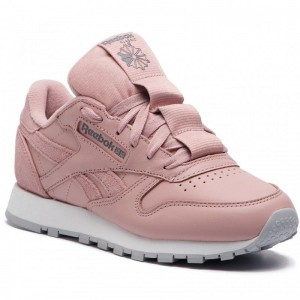 Black Friday 2020 | Reebok Chaussures Cl Lthr CN7024 Smoky Rose/Cold Grey/Wht