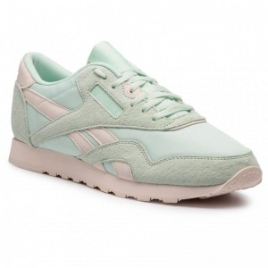 Black Friday 2020 | Reebok Chaussures Cl Nylon DV3633 Storm Glow/Pale Pink