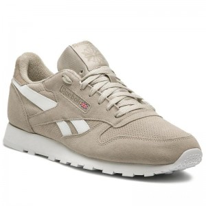 Reebok Chaussures Cl Leather Mu CN7106 Light Sand/Sand Beige