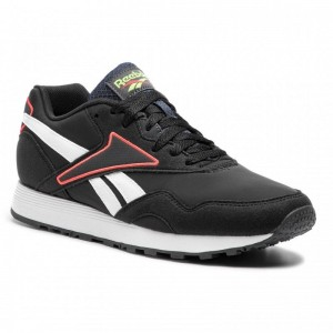 Black Friday 2020 | Reebok Chaussures Rapide Mu CN7521 Black/White/Grey/Red/Lime