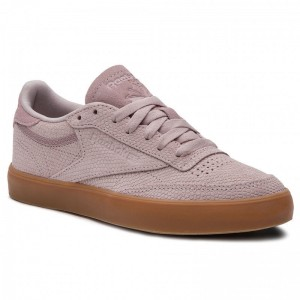 Black Friday 2020 | Reebok Chaussures Club C Fvs CN8643 Ashen Lilac/Gum