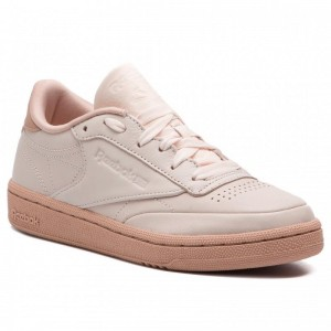 Reebok Chaussures Club C 85 CN8644 Pale Pink/Dusty Pink/Red