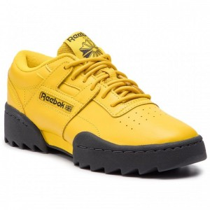 Black Friday 2020 | Reebok Chaussures Workout Ripple Og DV3757 Urban Yellow/True Gr
