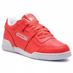Reebok Chaussures Workout Plus Mu DV4312 Canton Red/White