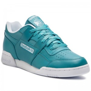 Black Friday 2020 | Reebok Chaussures Workout Plus Mu DV4313 Mineral Mist/White