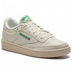 Black Friday 2020 | Reebok Chaussures Club C 85 BS8242 Chalk/Green/White/Red