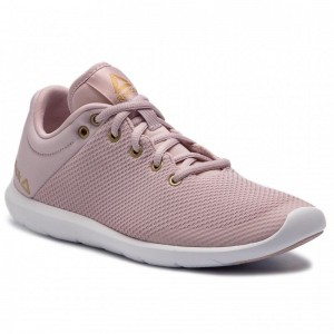 Black Friday 2020 | Reebok Chaussures Studio Basics CN6669 Lilac/White/Brass