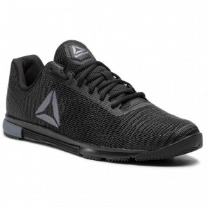 Black Friday 2020 | Reebok Chaussures Speed Tr Flexweave DV4403 Black/Cold Grey