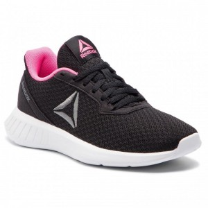 Reebok Chaussures Lite DV4879 Black/White/Pink/.Alloy