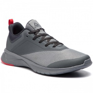 Black Friday 2020 | Reebok Chaussures Print Lite Rush 2.0 CN6213 True Grey/Primal Red