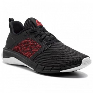Reebok Chaussures Print Run 3.0 CN7212 Blk/Wht/Red
