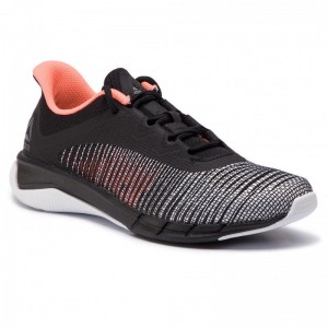 Reebok Chaussures Fast Tempo Flexweave CN6612 Black/White/Guava