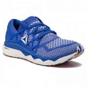 Reebok Chaussures Floatride Run Ultk DV3885 Cobalt/Gold/White