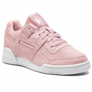 Black Friday 2020 | Reebok Chaussures Workout Lo Plus CN6972 Smoky Rose/Wht/True Grey