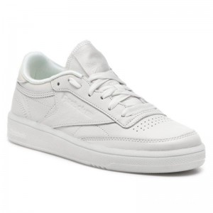 Black Friday 2020 | Reebok Chaussures Club C 85 CN6975 Chalk/White