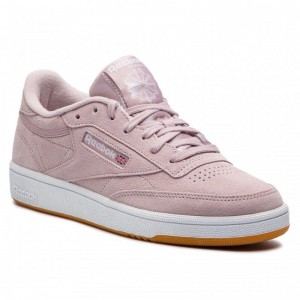 Black Friday 2020 | Reebok Chaussures Club C 85 DV3706 Ashen Lilac/White/Gum