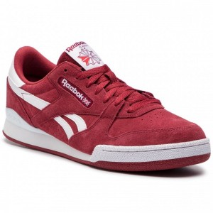 Black Friday 2020 | Reebok Chaussures Phase 1 Pro Mu DV4075 Meteor Red/White