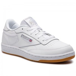 Black Friday 2020 | Reebok Chaussures Club C CN5646 White/Gum Int