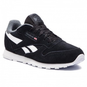 Black Friday 2020 | Reebok Chaussures Classic Leather DV4259 Black/True Grey