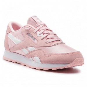 Black Friday 2020 | Reebok Chaussures Cl Nylon DV4410 Practical Pink/White/Silv