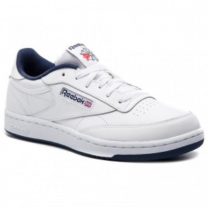 Black Friday 2020 | Reebok Chaussures Club C DV4539 White/Navy/Intl