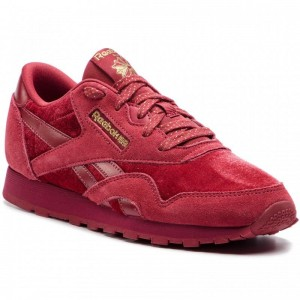 Black Friday 2020 | Reebok Chaussures Cl Nylon DV4543 Meteor Red/Gold
